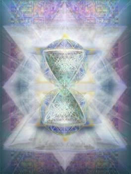 SyntheSphered Chalice Fifouray Star on Tapestry by Christopher Pringer