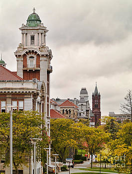 Syracuse University Hill by Debra Millet