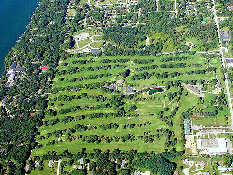 Bill Lang - T-011 Tuscombia Golf Course 2 Green Lake Wisconsin