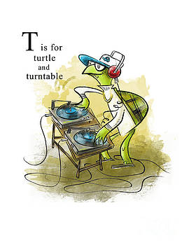 T is for Turtle by Sean Hagan