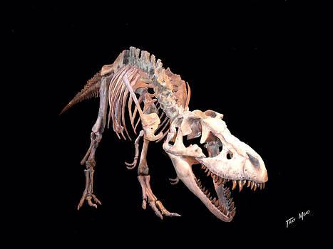 T-rex by Tray Mead