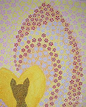 Tabby Cat Love by Liz Rosales