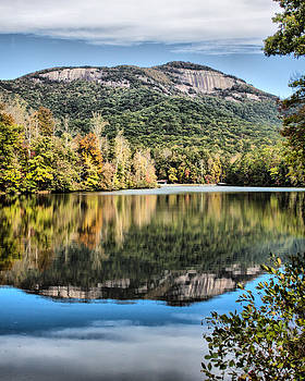 Table Rock and Pinnacle Lake by Lynne Jenkins