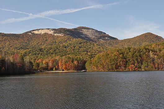 Table Rock in Fall by Dustin Bridges