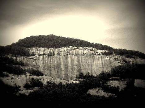 Table Rock in South Carolina by Kathy Barney