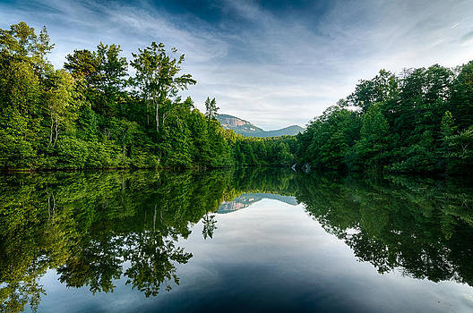 Table Rock Reflection by Dustin Ahrens