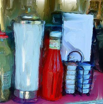 Table Still Life by Cary Shapiro