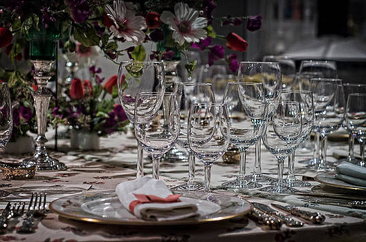 Table's set by Cheryl Cencich