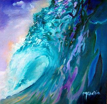 Tahitian Wave by Maureen Ghetia