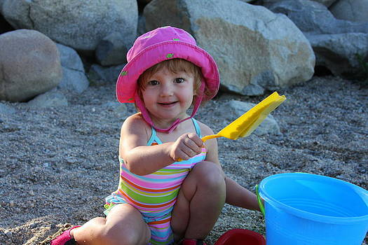Anne Barkley - Tahoe Baby at the Beach