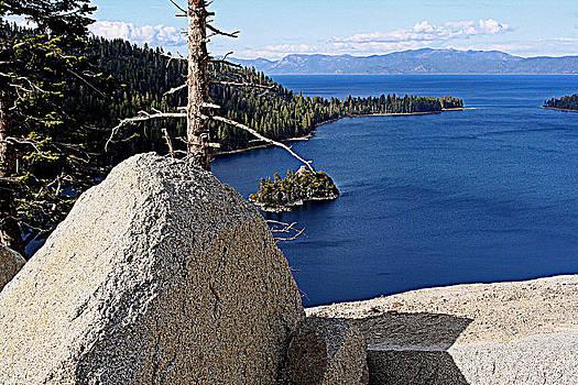 Lynn Bawden - Tahoe Blue