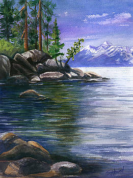 Tahoe Quiet Cove by Sandi Howell