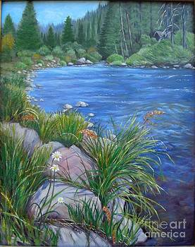 Tahoe River by Lorna Saiki