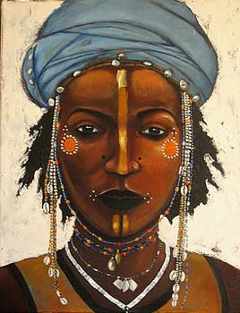 Tahoua Dancer Nigers by Sandy Taylor