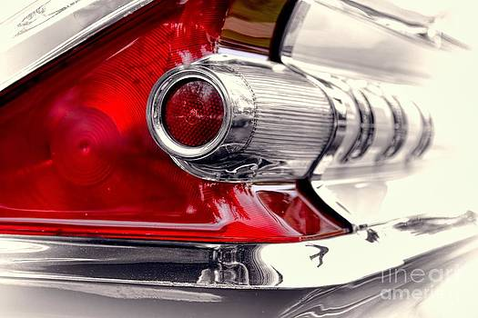 Taillight 1959 Mercury Monterey by Henry Kowalski
