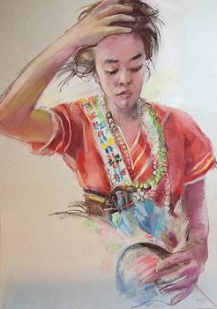 Taiwan Amis Aboriginal costume  by Yuji Sakuma