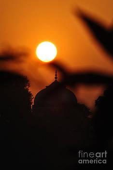 Taj mahal- Agra India by Vineesh Edakkara