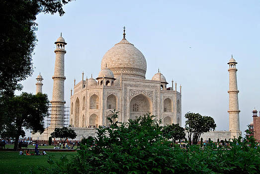 Devinder Sangha - Taj Mahal and garden