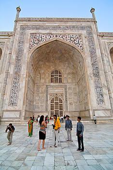 Devinder Sangha - Taj Mahal and visitors