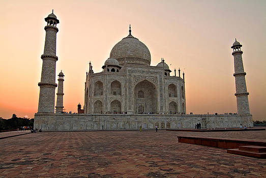Devinder Sangha - Taj Mahal at Sunset