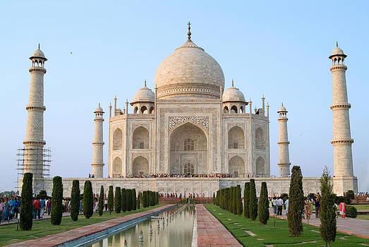 Devinder Sangha - Taj Mahal from front