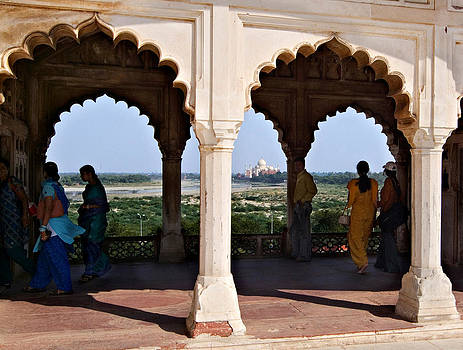 Devinder Sangha - Taj Mahal from Red Fort
