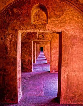 Taj Mahal Gate by Diane Geddes