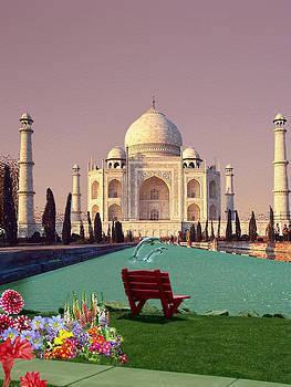 Taj Mahal by Julietta  Haynes
