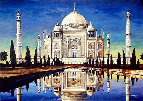 Taj Mahal by Somaditya Das