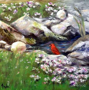 Taking A Rest by Anne Barberi