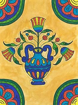 Talavera Flora 2 by Susie WEBER