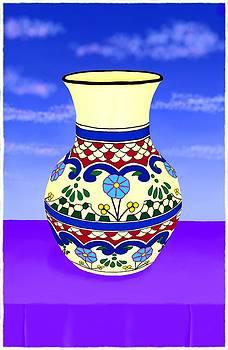 Talavera Pot 1 by Britton Britt Cagle