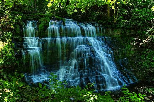 Talcott Falls by Dave Files