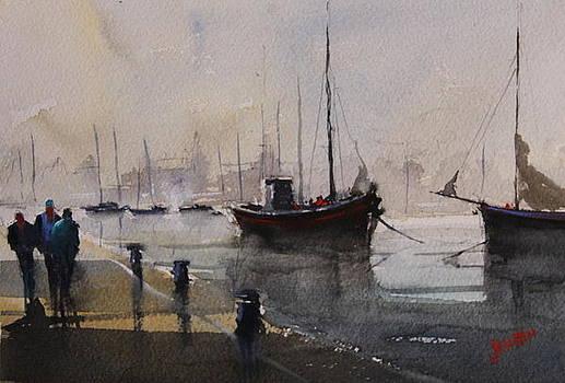 Talking Fishermen by Jan Min