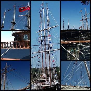 Gail Matthews - Tall Ship Collage