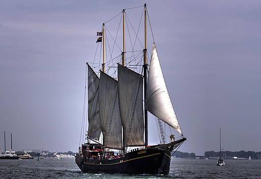 Tall Ship Kajama by Nicky Jameson