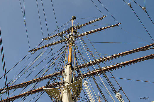 Allen Sheffield - Tall Ship Mast Rigging