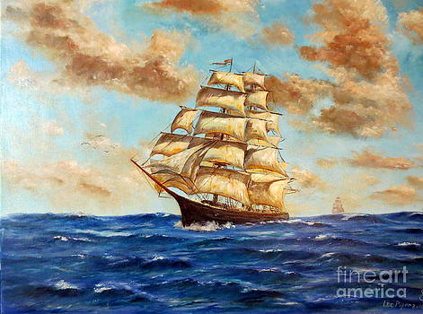 Tall Ship On The South Sea by Lee Piper