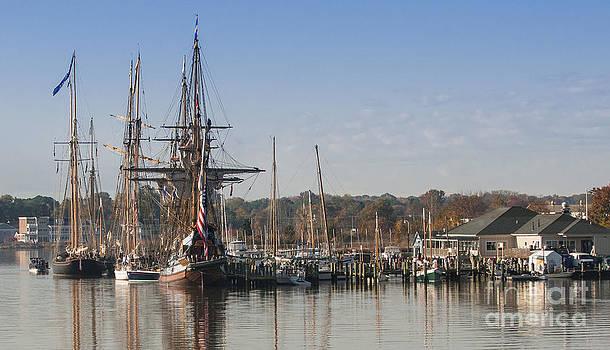 Lauren Brice - Tall Ship Reflection