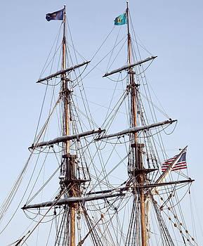 Tall Ship Rigging by Patrick Derickson
