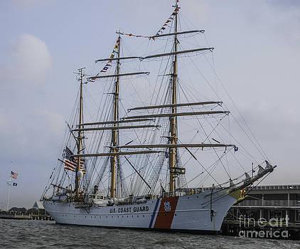 Dale Powell - Tall Ship USCG Barque Eagle