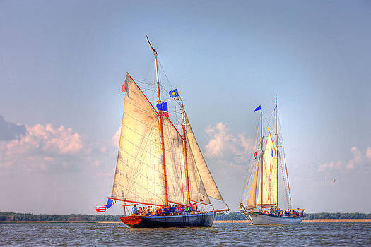 Tall Ships by Fuad Azmat
