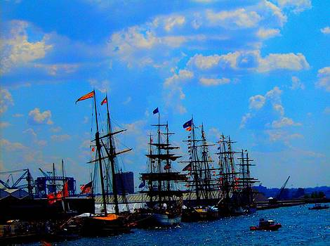 Tall ships by Mark Malitz