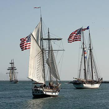 Art Block Collections - Tall Ships Sailing