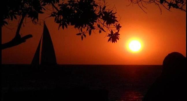 Tamarindo sunset by Paul Deforrest