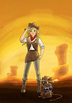 Tammy and Alfred Tame the West by Reynold Jay