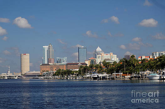 Tampa Florida from the Water by Natural Focal Point Photography