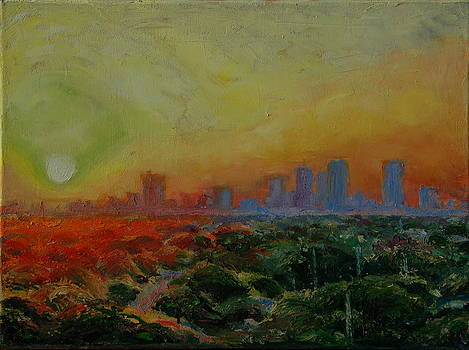 Tampa Sunrise by Thomas Bertram POOLE