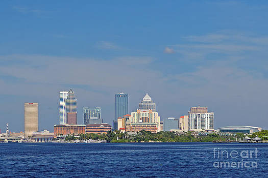 Tampa View from the Bay by Natural Focal Point Photography