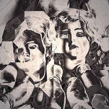 #tangentapp #decim8 #doll #antique by Mary Welsch